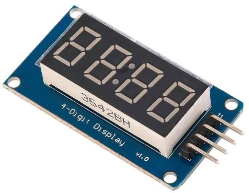 Display Relógio 4 Digitos e : (Dois Pontos) TM1637