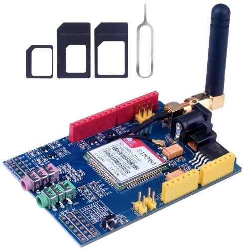 Shield GSM GPRS SIM900 Quad Band + Antena