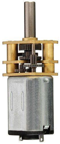 Mini Motor N20 6v 30 RPM Caixa de Redução de Metal