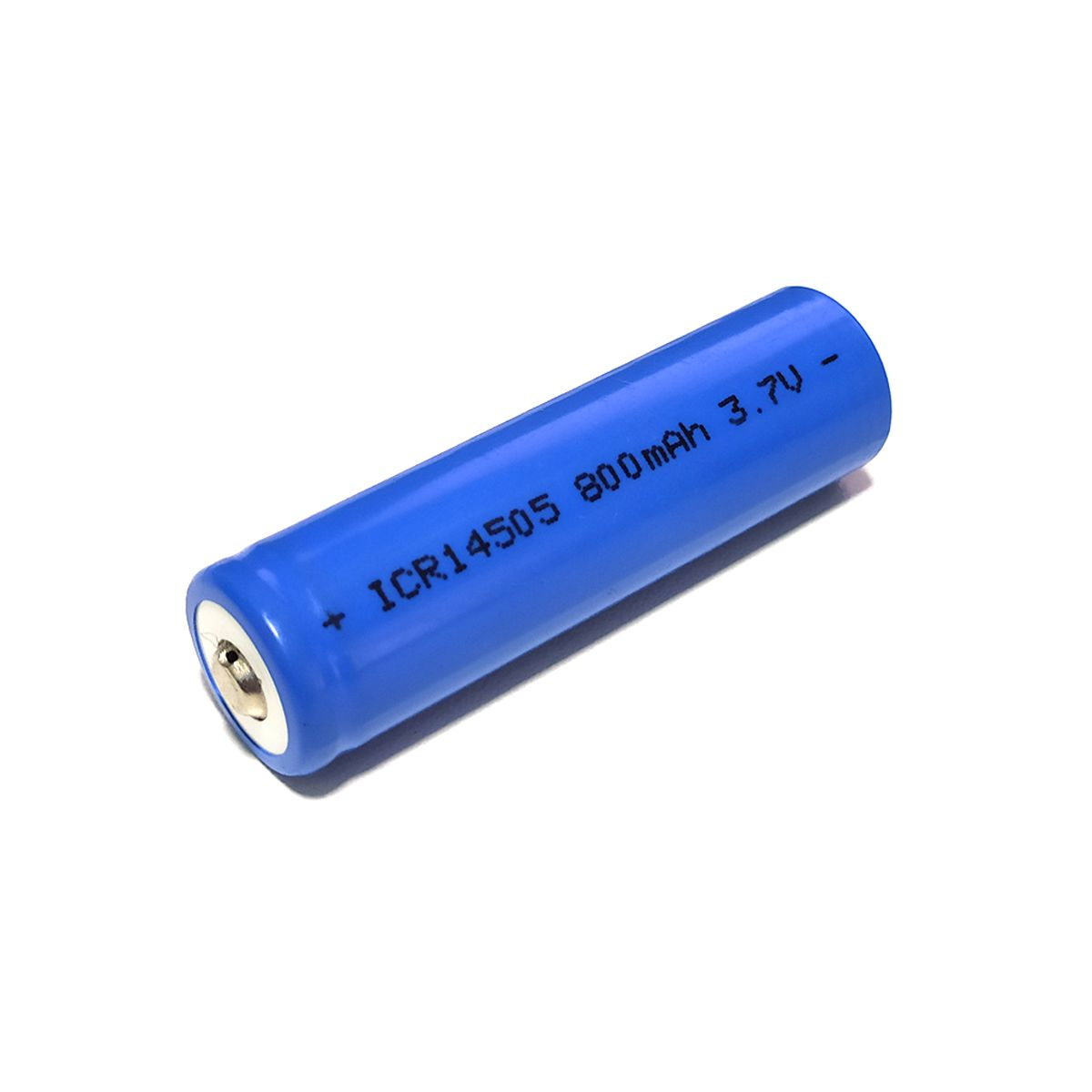 1x Bateria 3,7V 14505 de Lítio Recarregável - Tamanho AA