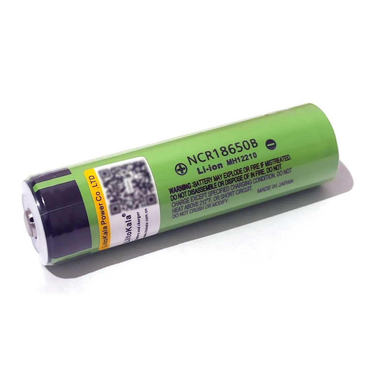 1x Bateria NCR 18650B Original 3,7v 3400mah Litio Recarregavel