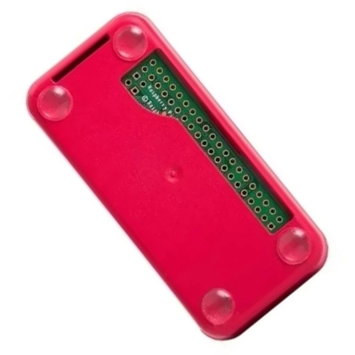 1x Case para Raspberry pi Zero com 3 tampas diferentes