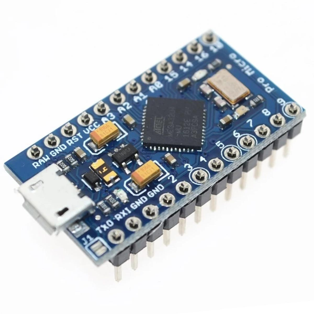 1x Placa Leonardo Pro Micro 5v + Cabo Micro USB para Arduino
