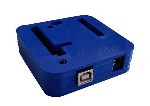 Case para Arduino Uno R3 DIP/SMD Impressa em 3D Azul