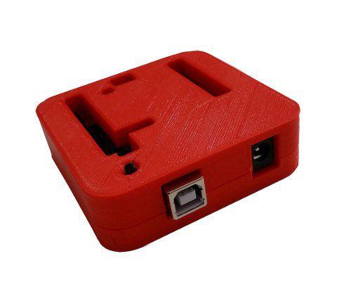 Case para Arduino Uno R3 DIP/SMD Impressa em 3D Vermelha