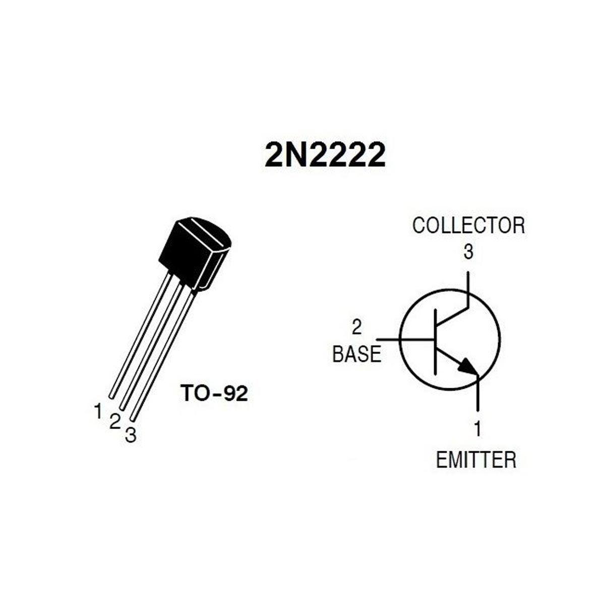 20x Transistor NPN 2N222A 2N222