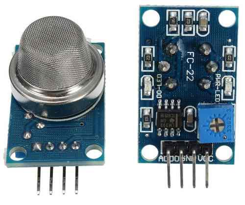 Sensor MQ-4 Gás Metano Butano