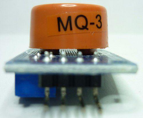 Sensor MQ-3 Gás Álcool Etanol