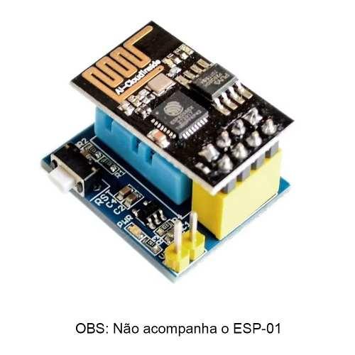 Módulo Sensor de Temperatura e Umidade DHT11 para ESP8266-01