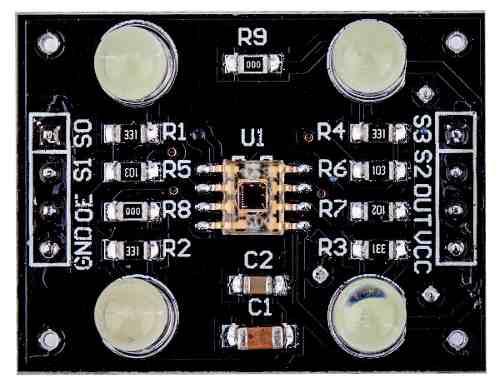 Módulo Sensor de Cor/Cores RGB TCS230 TCS3200