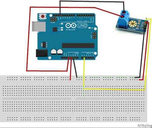 Sensor Detector de Tensão DC 0 a 25v