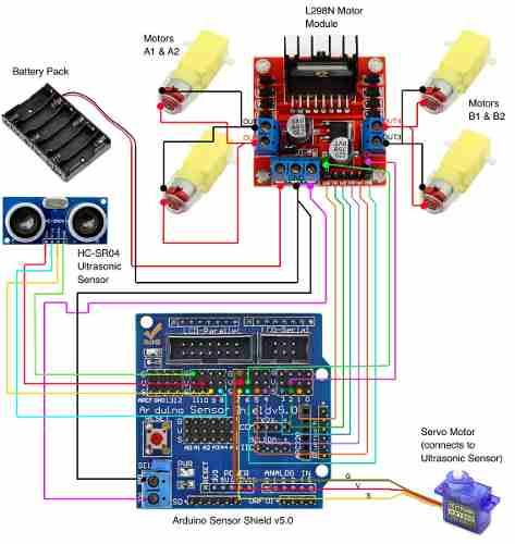 Shield Sensor Uno V5.0 Placa Expansão V5