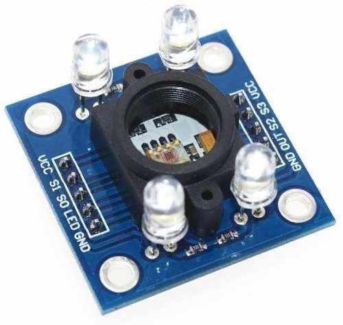 Módulo Sensor de Cor TCS3200 e Reconhecimento TCS230