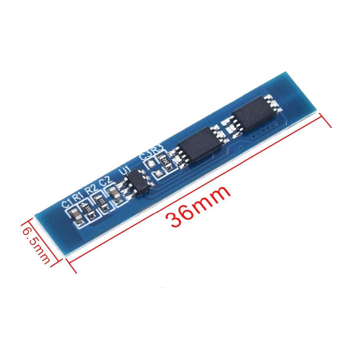 2x Carregador de Bateria Litio 2S Lipo 7A c/ Proteção de Carga e Descarga BMS
