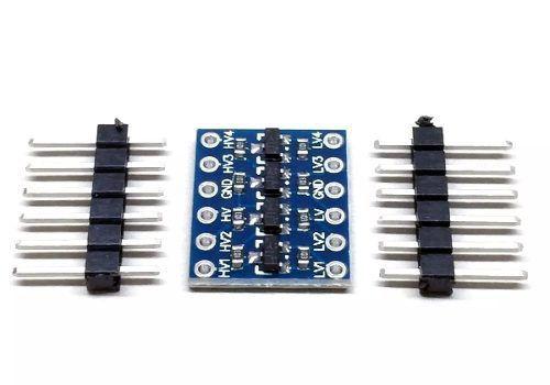2x Conversor de Nível Lógico Bidirecional I2C 5v - 3.3v