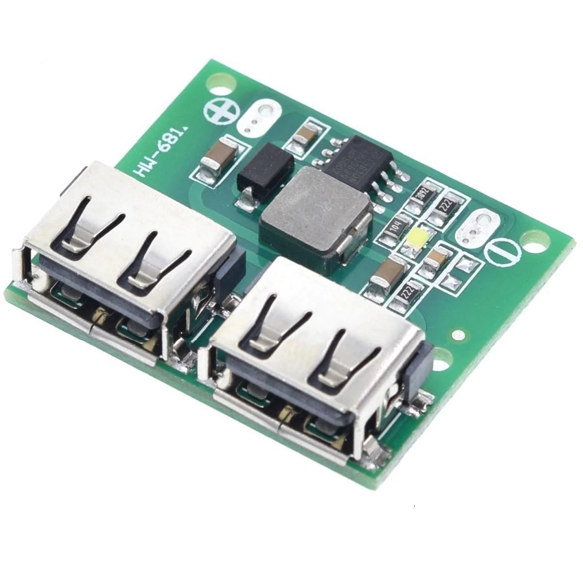 2x Conversor Regulador de Tensão 6 a 26v Step Down para 5V 3A