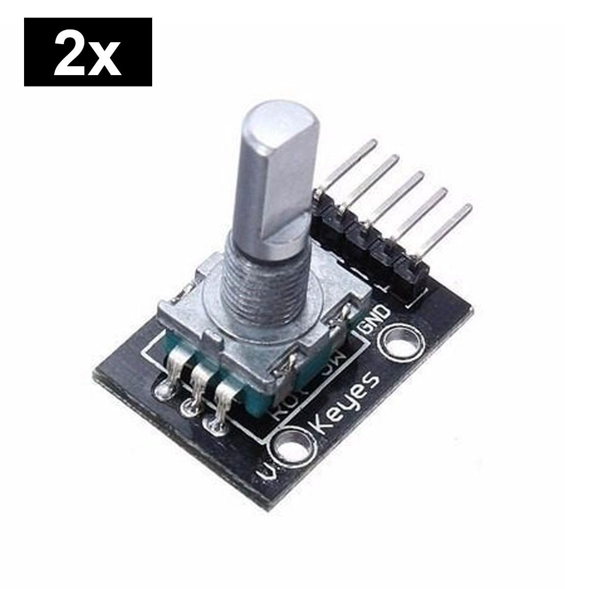 2x Encoder / Decoder Rotativo KY-040