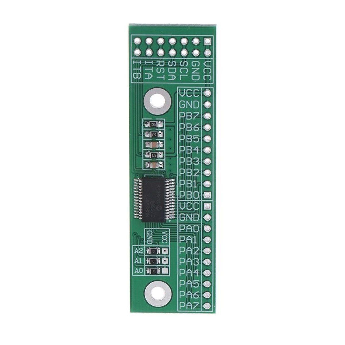 2x Módulo Expansor de Portas de Entrada / Saída Digital 16 Bits Interface I2c - MCP23017