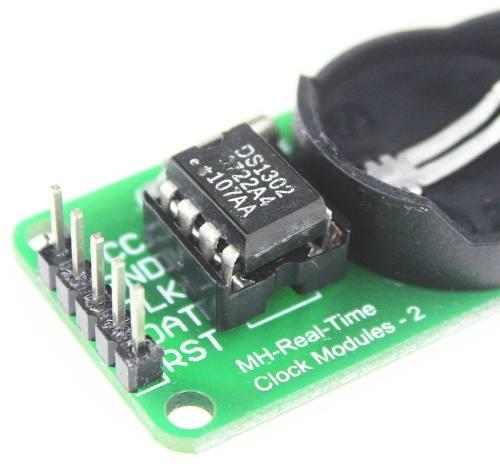 2x Módulo RTC DS1302 / Módulo Relógio Real Time Clock