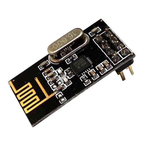 2x Modulo Wireless NRF24l01 2.4ghz + 2x Módulo Adaptador de Alimentação