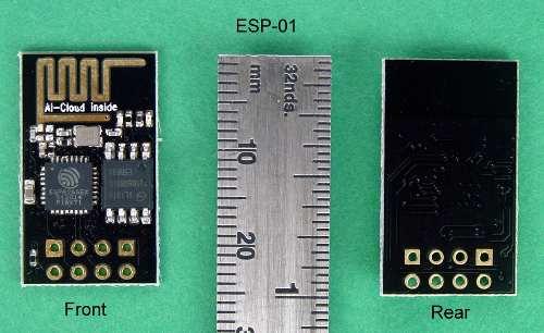 2x Placa Esp8266 Esp-01 Wifi 802.11 B/g/n Esp 01