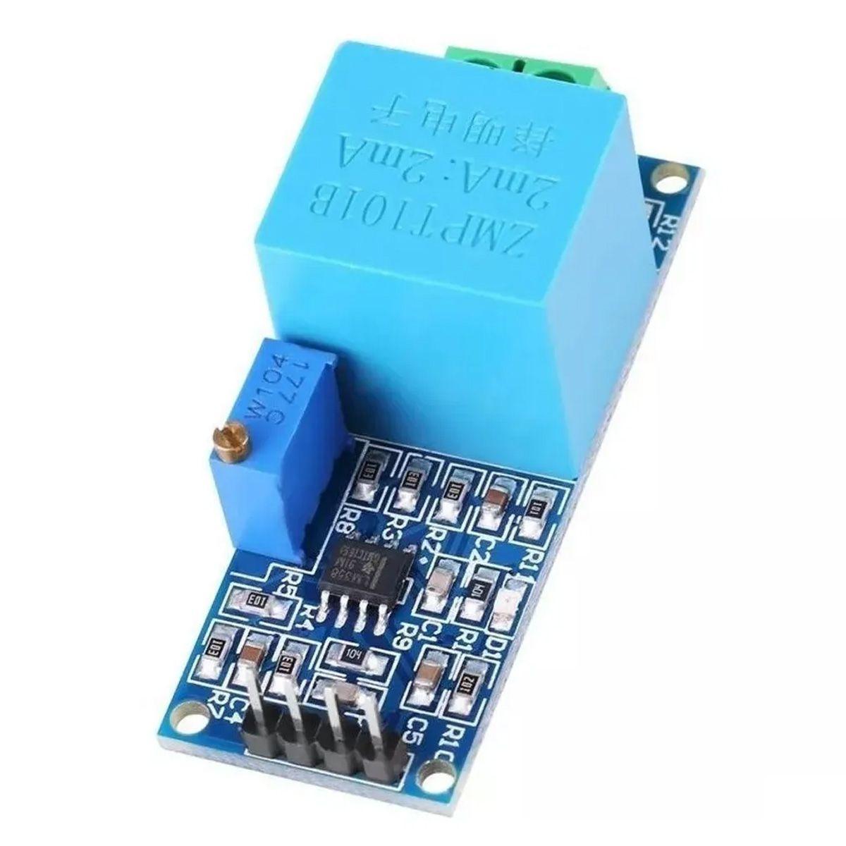 2x Sensor de Tensão AC 0 a 250V Voltímetro ZMPT101B