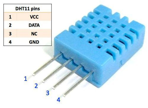 2x Sensor de Umidade e Temperatura DHT11