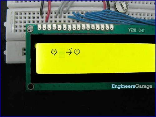 Display LCD 16x2 Amarelo