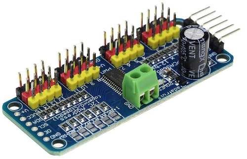 Módulo PWM PCA9685 Servo Motor Driver 16 Canais I2c