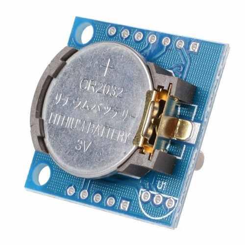 Módulo Relógio RTC DS1307 e AT24C32 I2C com Bateria