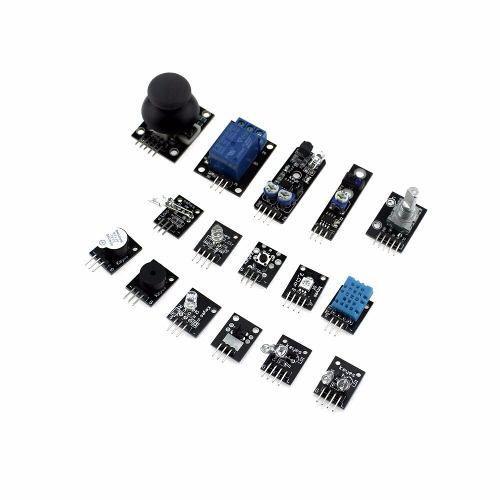 Kit com 37 Módulos e Sensores + Caixa