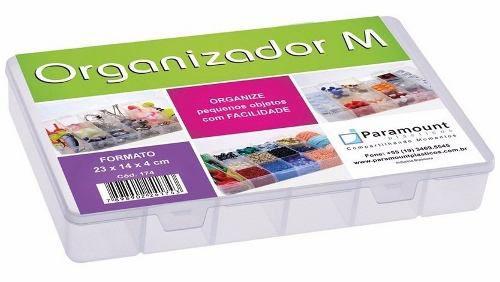 Caixa Organizadora M 23cm x 14cm x 4cm