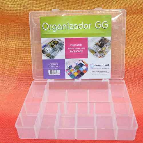 Caixa Organizadora GG 37cm x 27cm x 6cm