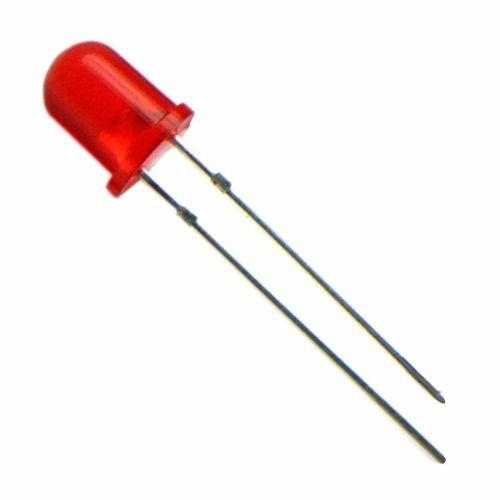 20x Led Vermelho Difuso 5mm