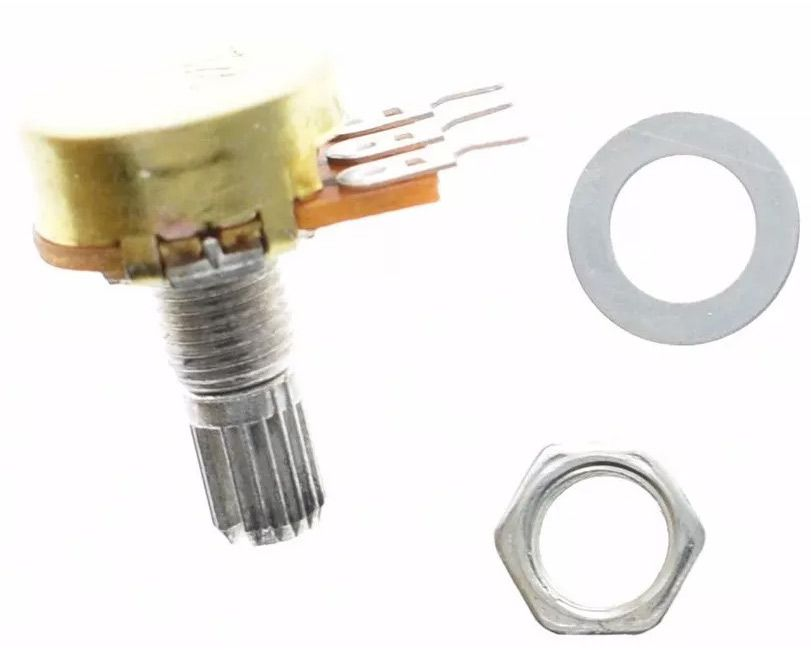 3 Potenciômetro 10k Linear Estriado 15 Mm Wh148 B5k