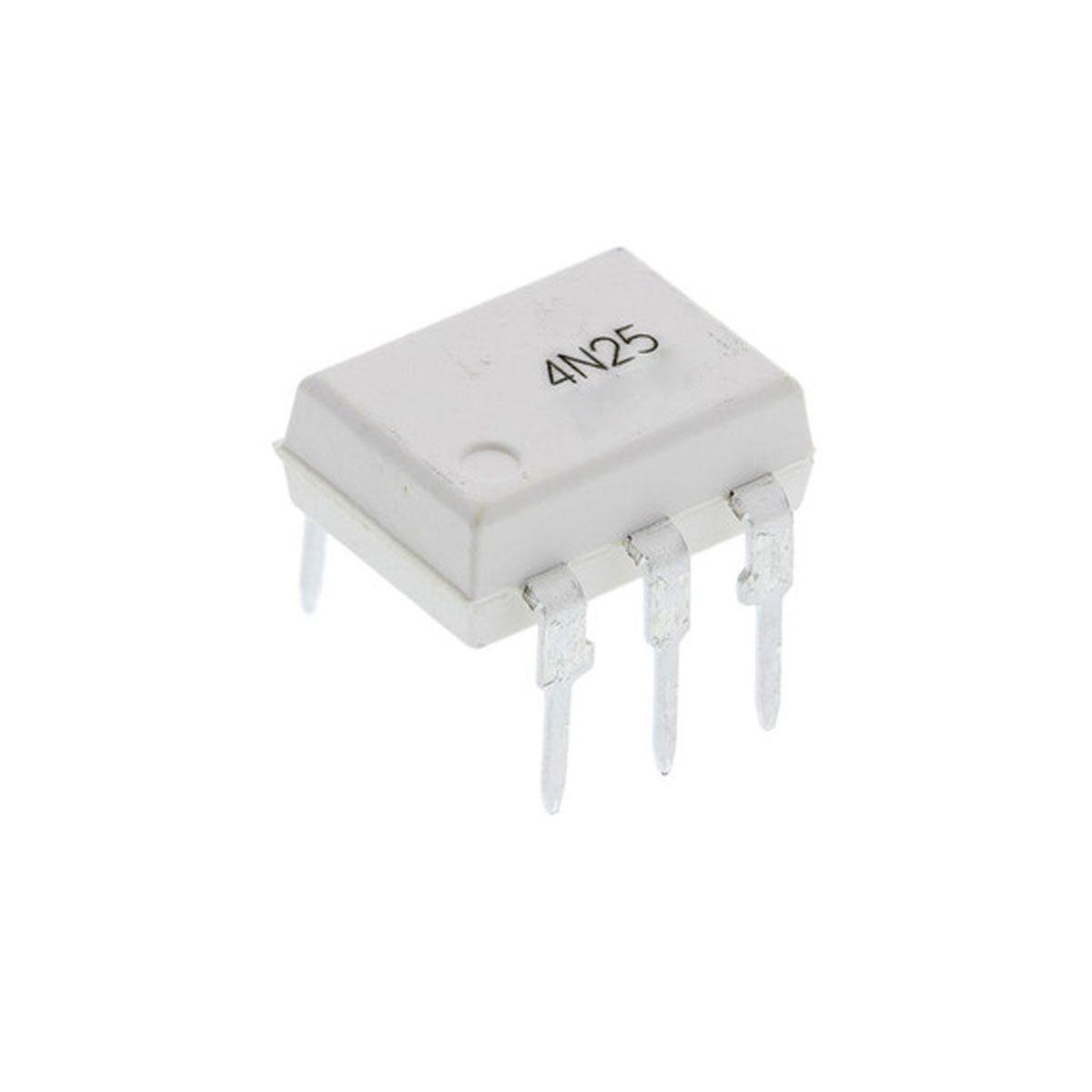 5x Circuito Integrado - CI Optoacoplador / Foto Acoplador 4N25 Dip
