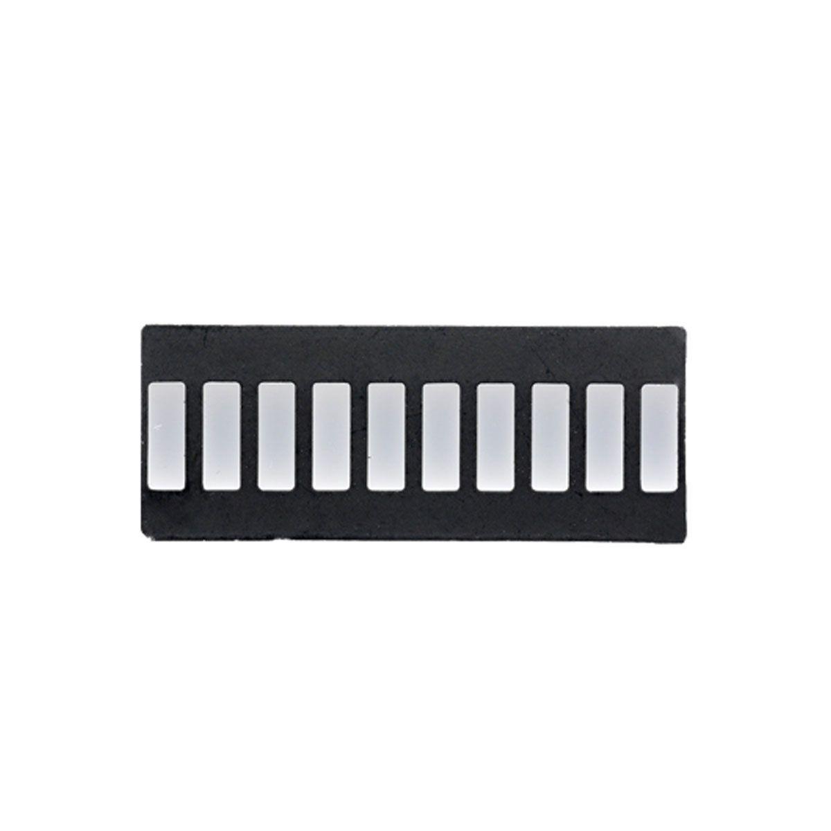 3x Display Bar Graph / Barra de Progresso com 4 cores 10 segmentos - Comum