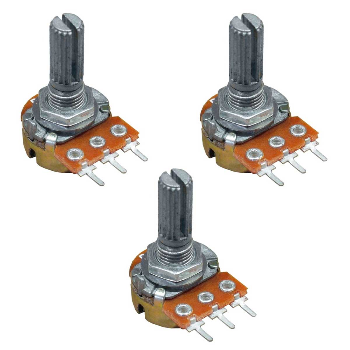 3x Potenciômetro 5K WH148-1-L20 3 Terminais