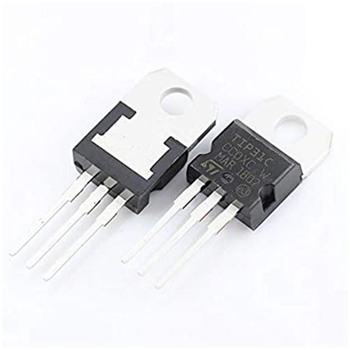 3x Transistor NPN TIP31c 100v 3A Power To-220