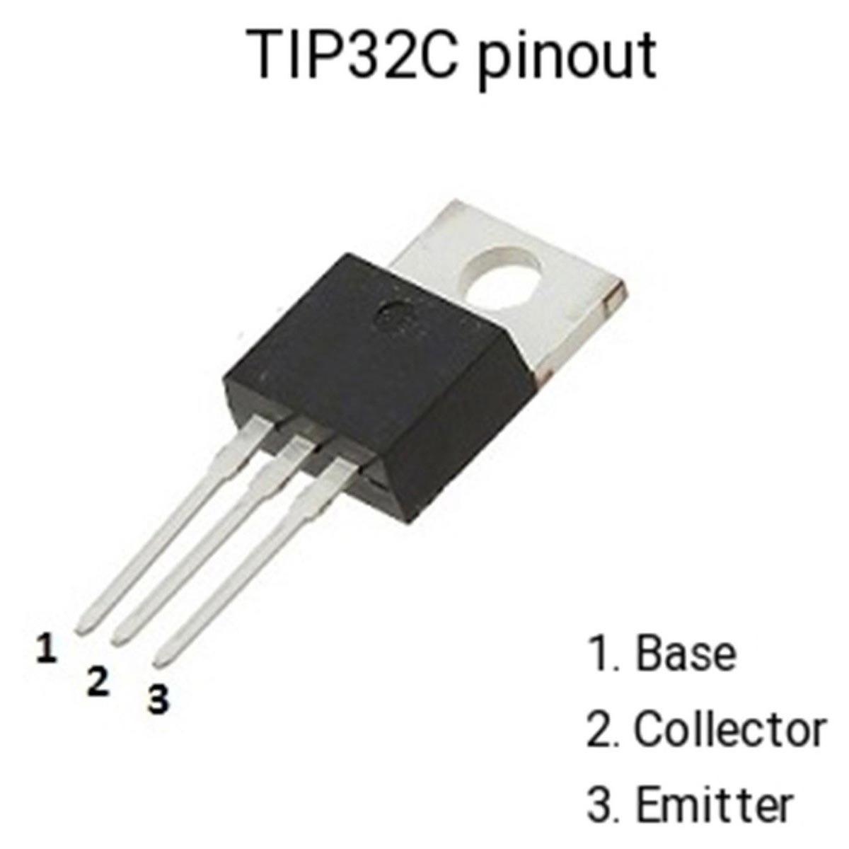 3x Transistor PNP TIP32c 100v 3A Power To-220