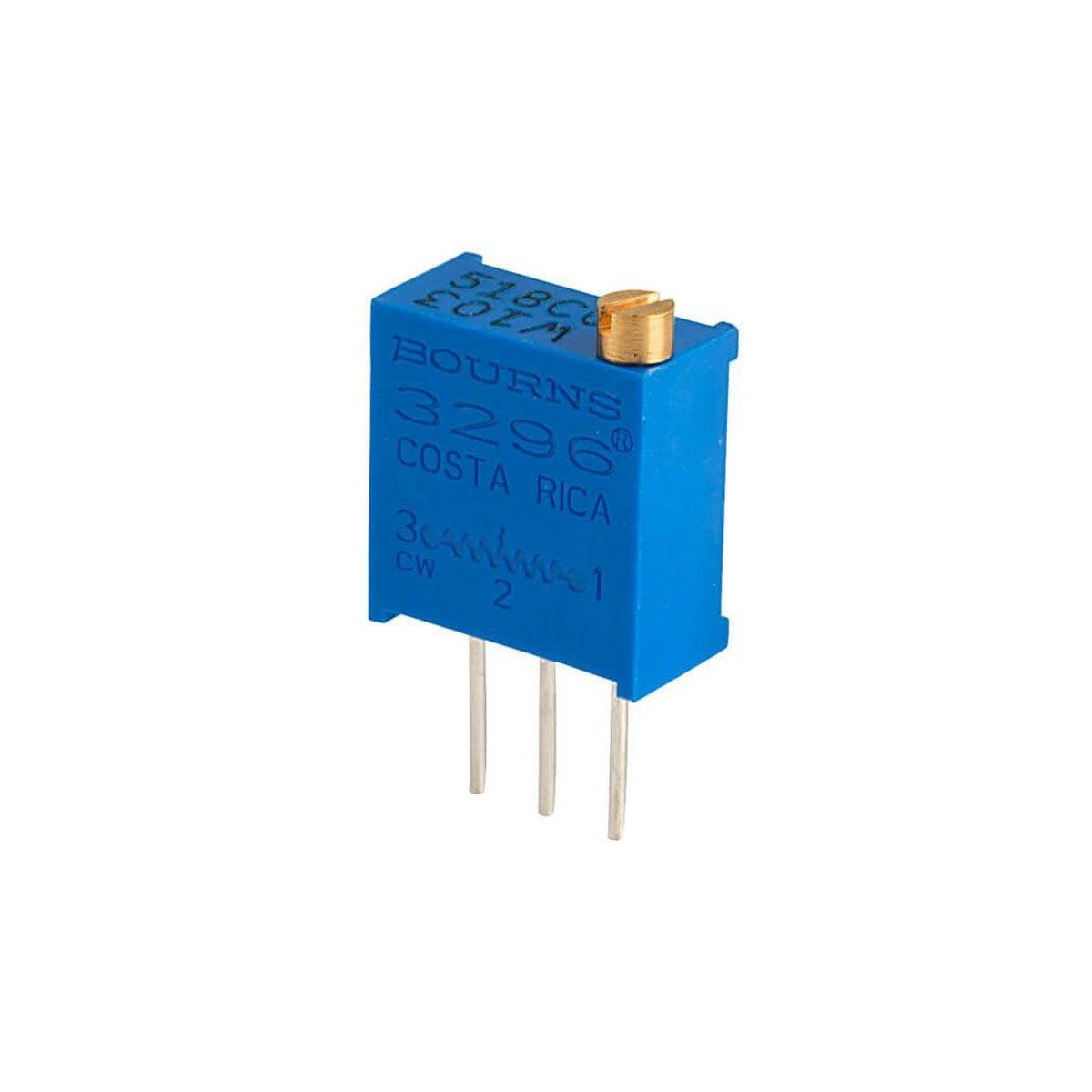 3x Trimpot / Potenciômetro Multivoltas 10K - Vertical