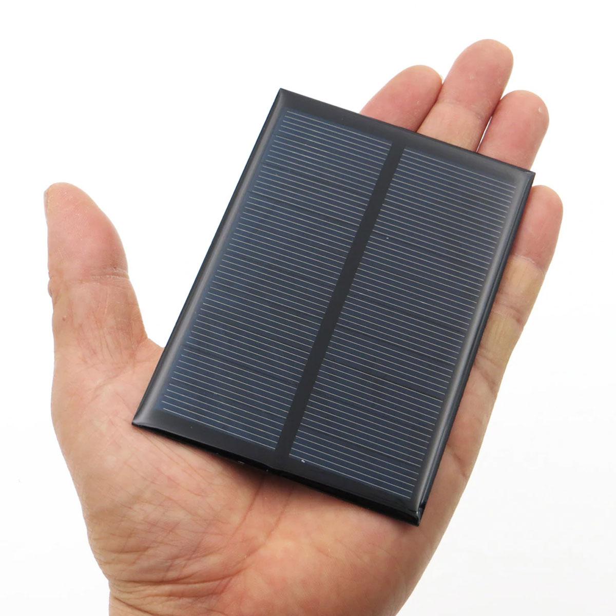 4x Mini Painel / Placa / Célula de Energia Solar Fotovoltaica 5v 200mA 1w