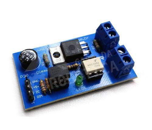 Módulo Dimmer 10A|Triac Q4010 - GBK Robotics