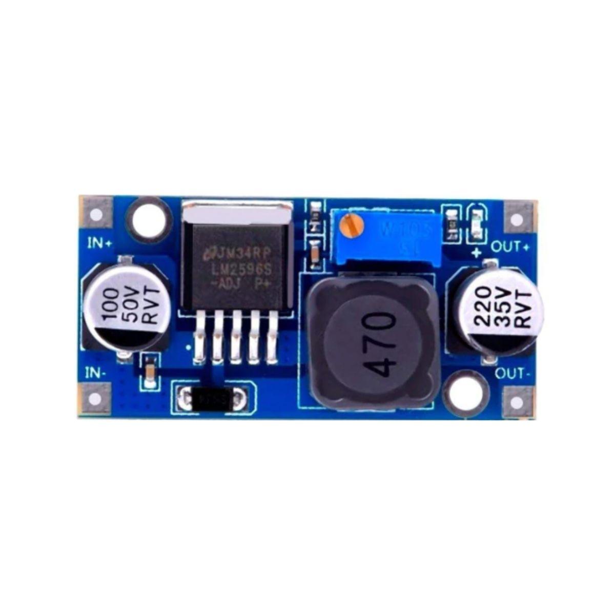 50x Regulador de Tensão Step Down Buck Conversor Dc Dc Lm2596 3a