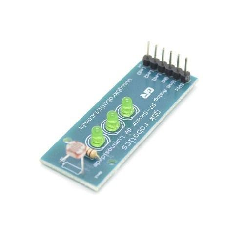 Sensor de Luz LDR com Leds - GBK Robotics - P7