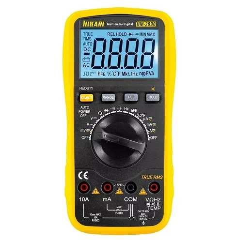 Multímetro Auto Digital Capacímetro True Rms Hikari HM-2090