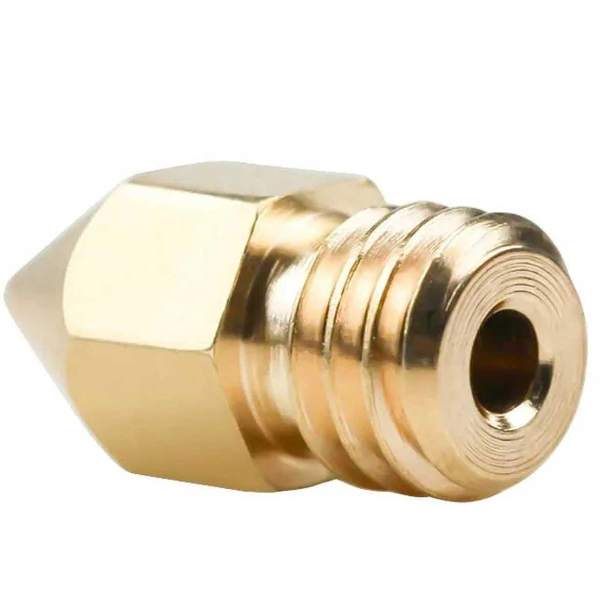 5x Bico / Nozzle 0,4mm Mk8 para Impressora 3D CR10 Ender3 Anet 1,75mm