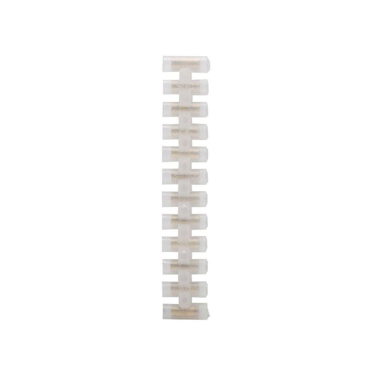 5x Conector em barra 5A 4mm / Conector Sindal
