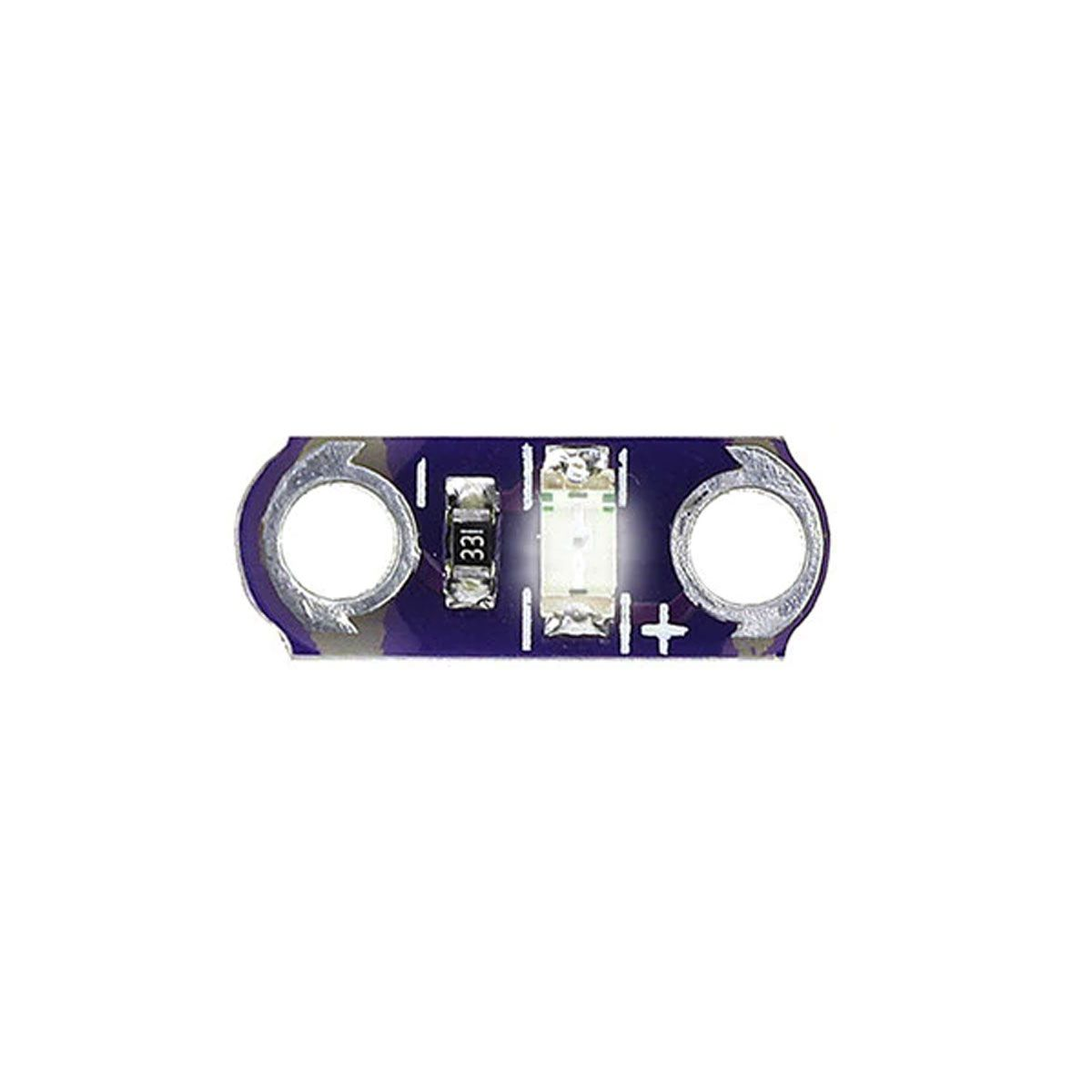 5x Led para Lilypad Wearable 3-5V - Módulo Led para Lilypad