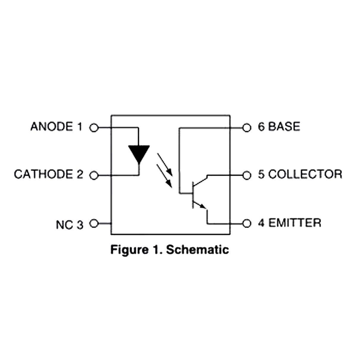 5x Optoacoplador TIL111 - Acoplador óptico